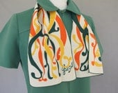 Girl Scout Scarf, Vintage 1970's Scarf