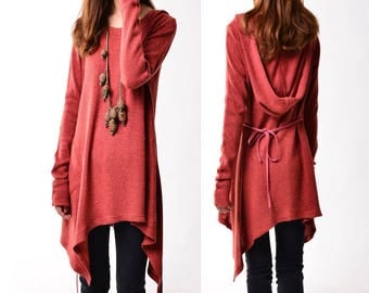 SALE - First line of the poem - knits tunic dress (Q5101)