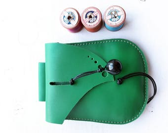 JINKS Belt Pouch, Hip bag #3351 emerald green