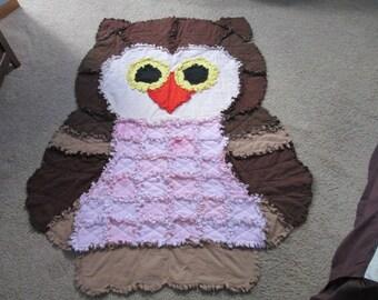 Owl Rag Quilt RTS