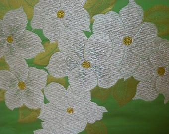 Vintage fabric S768, fabric, supplies, silk