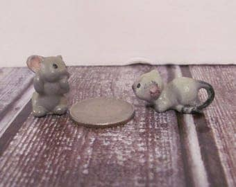 Miniature Mouse and Cat