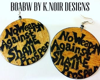 Isaiah 5417 No Weapon Formed Earrings