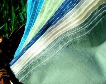 Cloth Napkins 20 or 24 Everyday Napkins - Child Cloth Napkins - Reusable Lunchbox Napkins Unpaper Towels Reusable Paper Towels Eco Friendly
