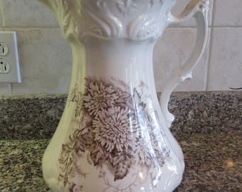 Embossed Pitcher Etsy