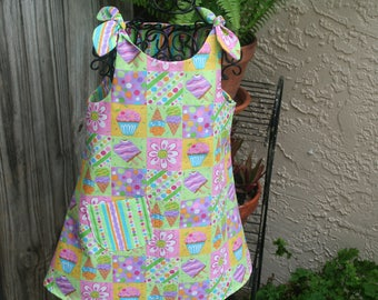 Toddler Dress  Cool and comfy for summer.  Size 1 to 2