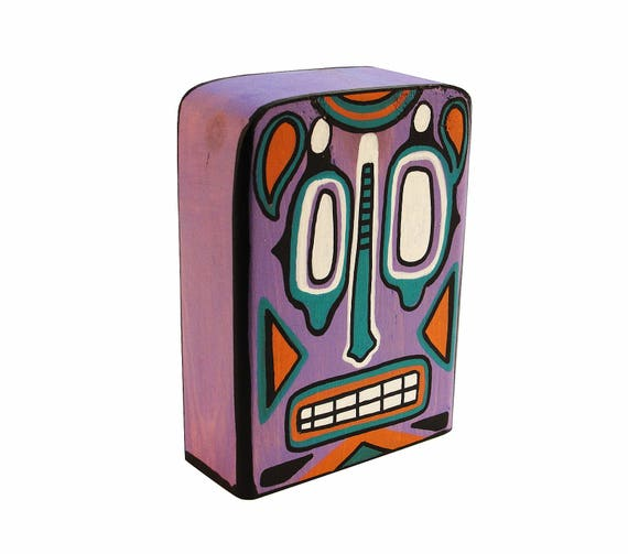 Funk Totem Part No. 271 - Original Mixed Media Block - Vol. 12