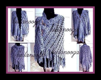 CROCHET PATTERN, SHAWL, make sizes small, medium and large.... one size fits most, pdf num. 236
