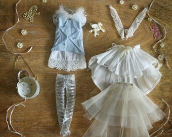 Jiajia Doll limited 8 pieces Star Moon love whole set fit Blythe Pullip Licca Azone obitsu