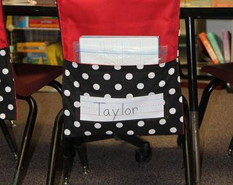 Classroom Chair Covers With Pockets