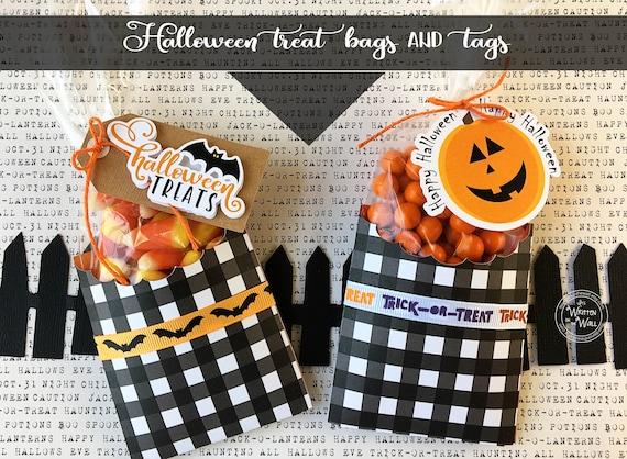 Halloween Treat bag and tag