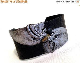 50% OFF SALE Stylish leather bracelet Cuff Wristband Women's leather bracelet Leather jewelry