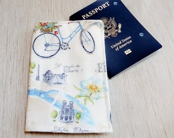 Paris Passport Cover Etsy