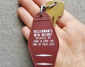 Kellerman's Keychain - Dirty Dancing - Vintage Motel Key Chain