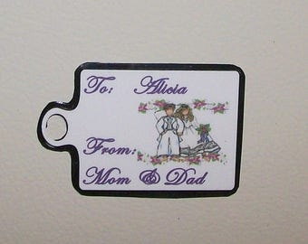Wedding Gift Tag for Women - Magnetic Tag