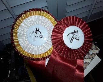 Vintage Saddle Club Horse Ribbons