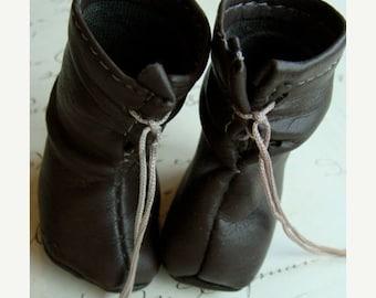 ONSALE Antique Doll Rare Victorian Prairie Boots