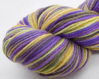 Hand dyed yarn, DK, bfl, Bluefaced Leicester,knitting projects, hat, gloves, DK, soft yarn, crochet, weave, DK, felting projects