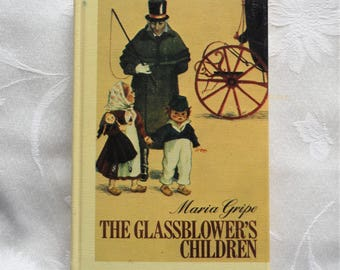 Maria Gripe The GlassBlower's Children 1974 Ex-library Book