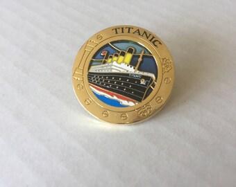 DESTASH: Titanic Porthole Travel Enamel Pin
