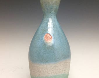 Back Country Collection; Bud Vase; Fine Ceramic Arts; Florida Keys