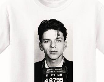 Frank Sinatra's Mugshot 1938 Men's T-Shirt
