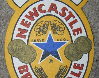 Newcastle Brown Ale Bar Coasters
