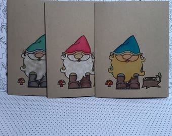 Choose Your Own Greeting Gnome cards