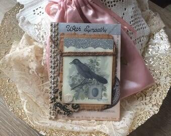 Handmade Sympathy Card - Loss Card - Grief Card - Bird-themed Card