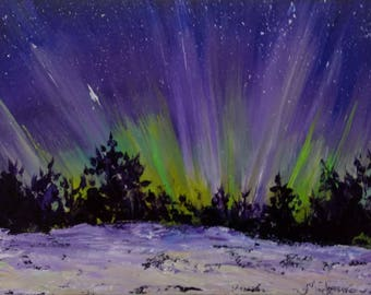 Northern Lights Burst