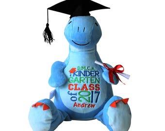 Personalized Dinosaur Graduation Gift, Preschool, Kindergarten, Graduate Gift, Custom Keepsake