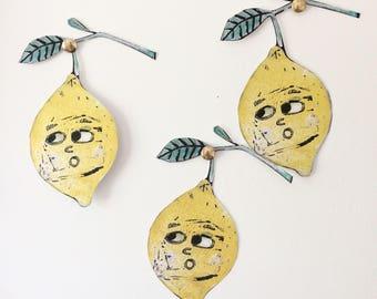 Little lemon print