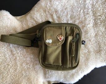 Army Surplus Crossbody bag vintage