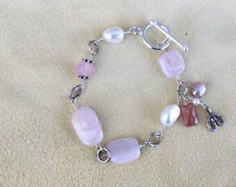 Pink Morganite Bracelet