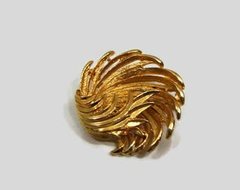 Vintage Gold Brooch Vintage Costume Brooches Retro Brooches