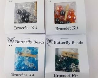 Beaded Bracelet Kits - Set of 4