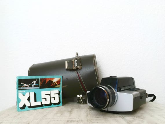 Vintage Kodak XL55 Movie Camera Outfit