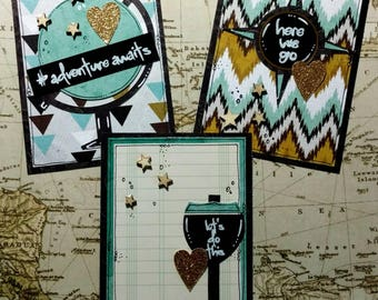 Adventure Awaits Project Life Cards Set of three