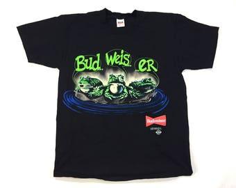 Budweiser frogs t shirt