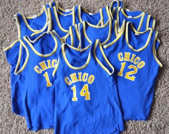 Vintage CHICO High Basketball Jerseys many #'s