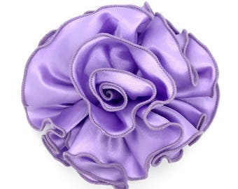 Blooming Delight Snap-In Dog Bows® Collar Attachment - Lavender- Dog Accessories, Pet Accessories, Dog Collar Flower, Pet Attire