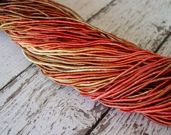 Pre-Cut Sale - Hand Dyed AUTUMN cord, 15 yards