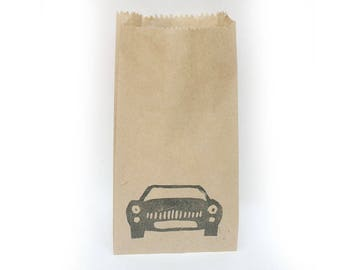 CARS Party bags, cars, car party favours, car loot bags, cars lolly bags, car party x 10
