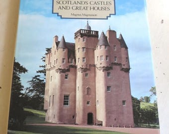 On SALE Vintage 1981 Edition Scotland's Castles and Great Houses Book