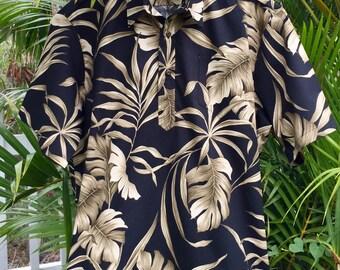 Men's Hawaiian Aloha Shirt Handmade Pullover Style, 18 prints to choose from