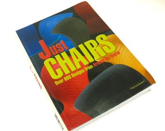 just chairs   ...     vintage book  ...    600 designs from around the world