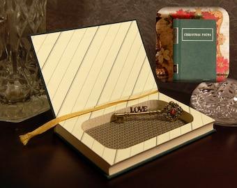 Hollow Book Safe - Christmas Stories - Secret Book Safe