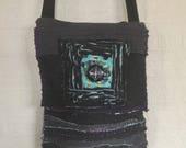 Custom bag for Mary Black Turquoise Purple