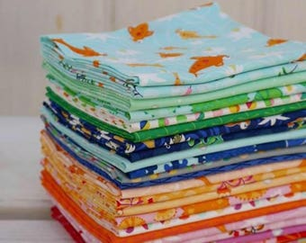 Pondlife by Claire Turpin - Pre-Order - Fat Quarter Bundle