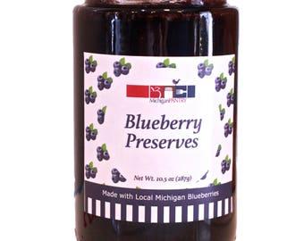 Michigan Pantry Blueberry Preserves